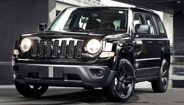 2020 Jeep Patriot Black
