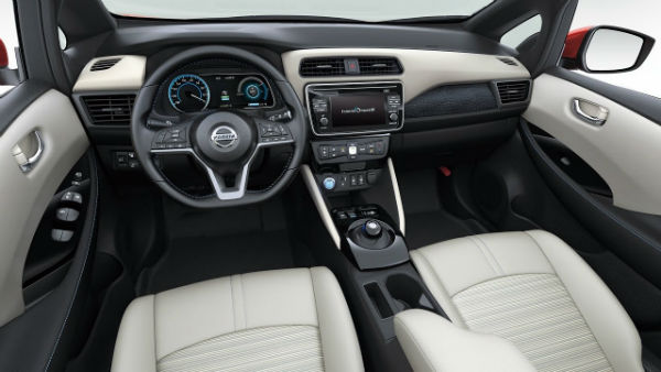 Nissan Leaf 2020 Interior